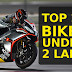 Top 10 Best Bikes Under 2 Lakhs in India ,2018 (with price and Specifications)