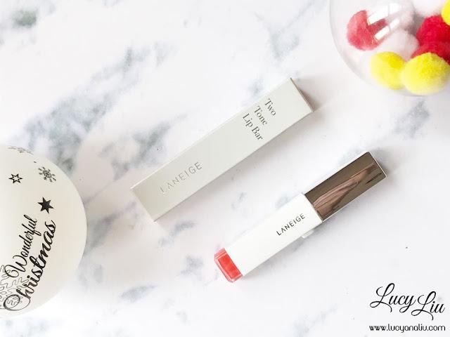 Laneige Two Tone Lip Bar no 13 Orange Blurring review