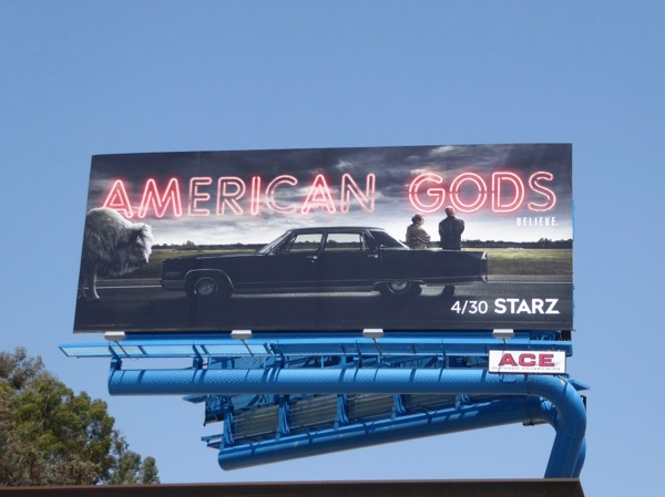 American Gods season 1 billboard