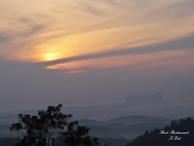 Sungai Lembing Kuantan Pahang Morning Sunrise View Bukit Panorama