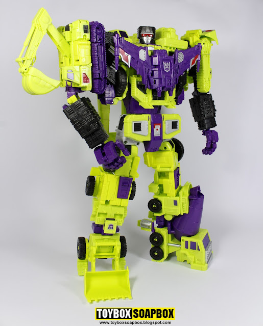 combiner wars devastator perfect effect