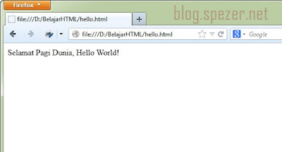 Cara Menjalankan File HTML