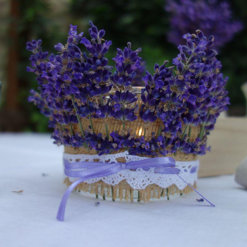 Deko Lavendel.Diy Lavendel Windlicht Basteln Einweckglas Upcyclen Und