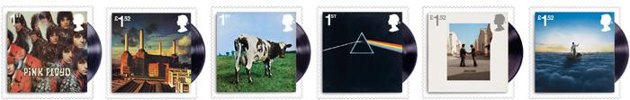ピンク・フロイド結成50周年を記念した郵便切手