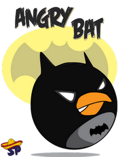 Batman Superheroes estilo Angry Birds