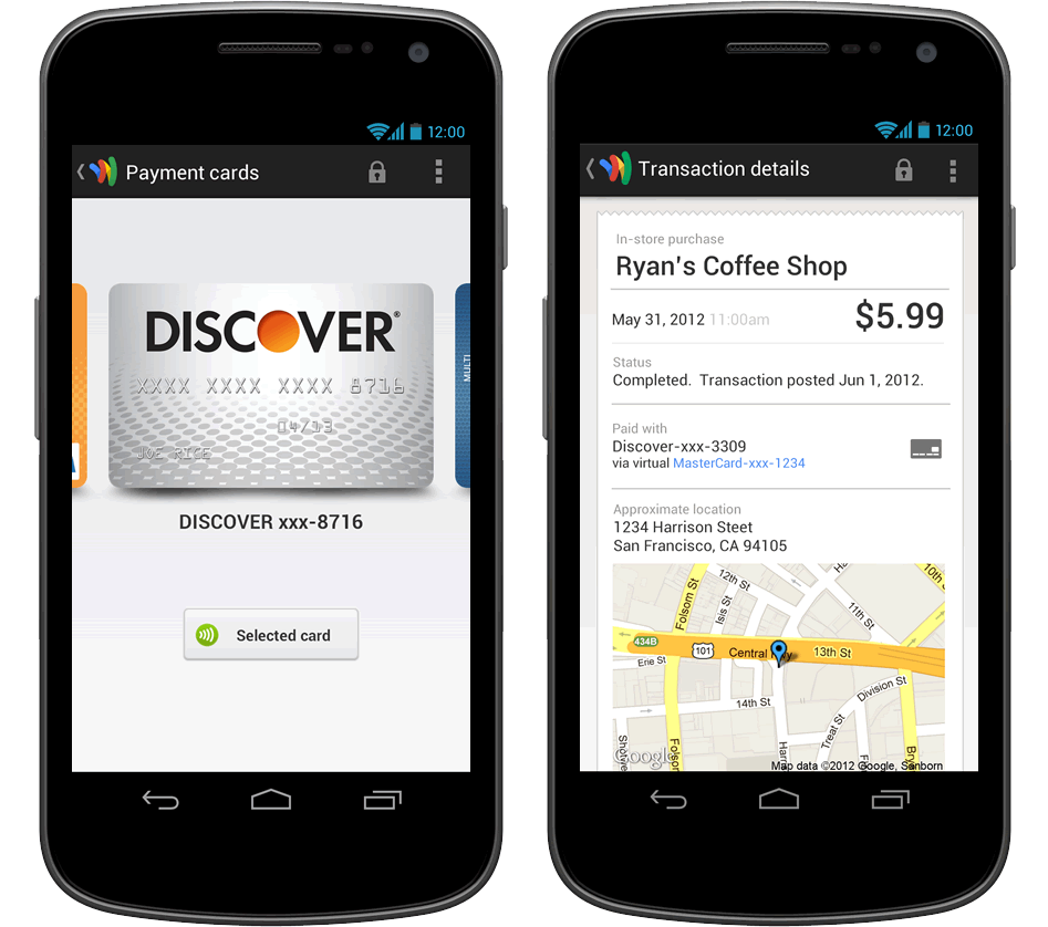 In fact, your Discover card offers a mobile app that's compatible with your iPhone, Android and tablet. What You Can Do With Discover's Mobile App The Discover Mobile app is currently offered in the Apple App Store or via Google Play.