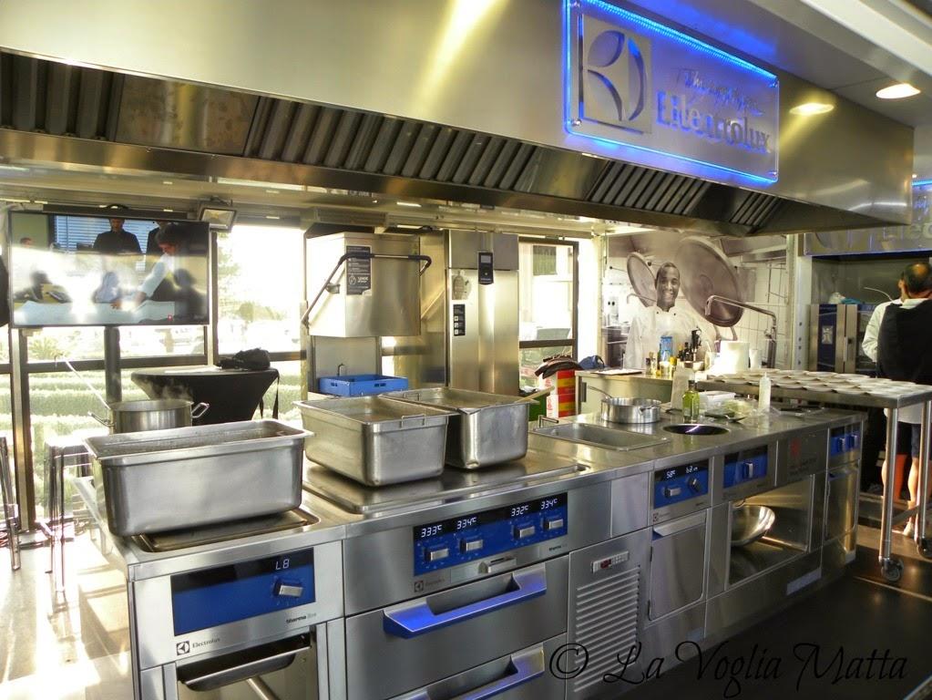 cucina mobile Electrolux per Barcolana 46