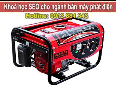 khóa học SEO cho ngành bán máy phát điện