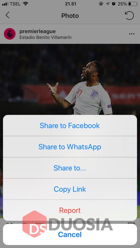Cara menyimpan Foto Instagram menggunakan downloadgram di iphone