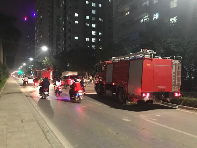 Đám cháy xảy ra vào lúc 22h tối may mắn lực lượng PCCC đã nhanh chóng có mặt