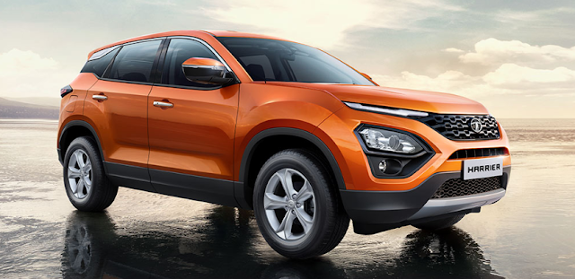 New 2019 Tata Harrier side view pics