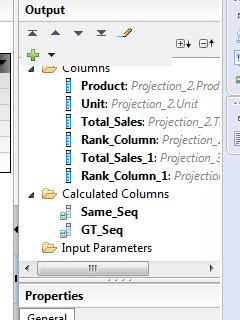 Create Cumulative figure in HANA Graphical Calculation View