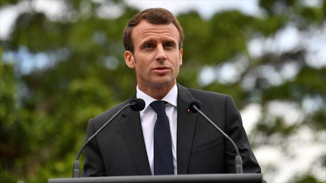 Macron: Francia estaba lista para atacar Siria desde junio de 2017