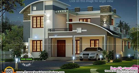 Modern Beautiful Home Kerala Home Design And Floor Plans