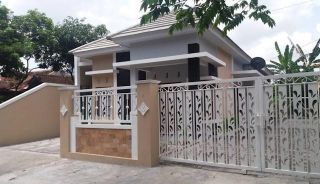 warna cat pagar rumah minimalis modern terbaru