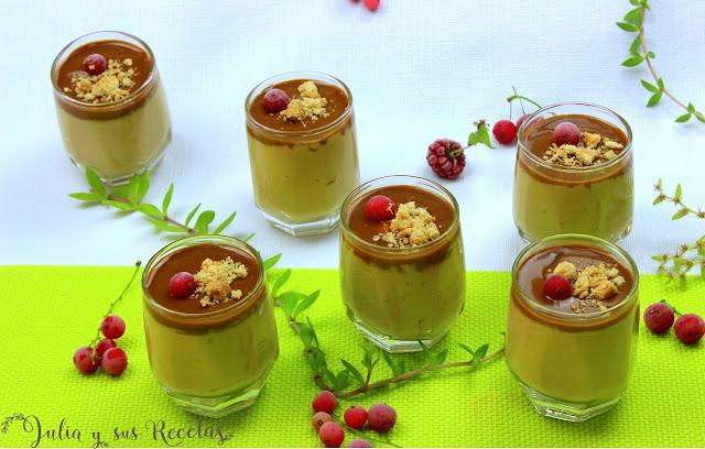 Mousse de dulce de leche. Julia y sus recetas