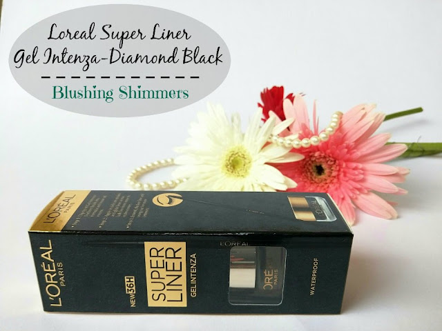Loreal Super Liner Gel Intenza Diamond Black