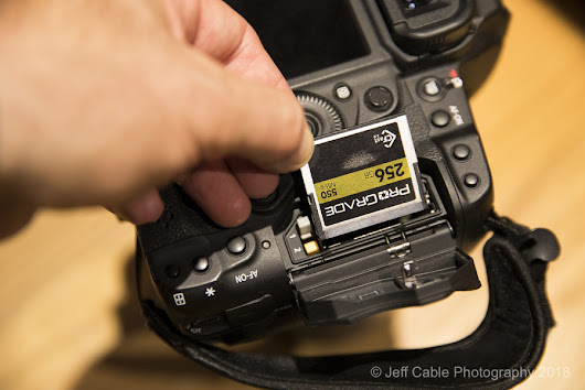 Product announcement: I am now using ProGrade Digital memory cards and readers