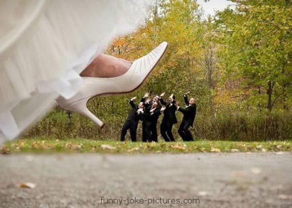 Funny Wedding Marriage Crush Picture