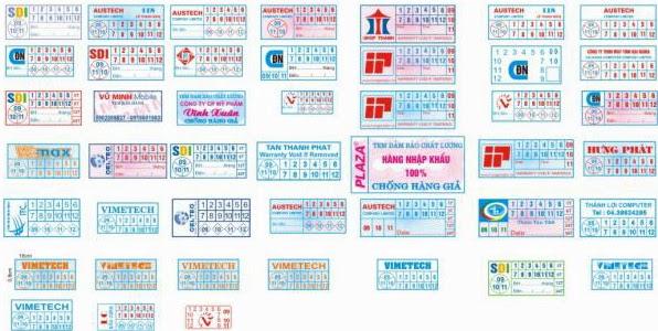 tem bảo hành in offset nhiều màu cung cấp tại trang web in offset giá sỉ, giá rẻ: www.inoffsetgiasi.com