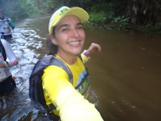 XC Run Itaipava 2015 e o rio cheio
