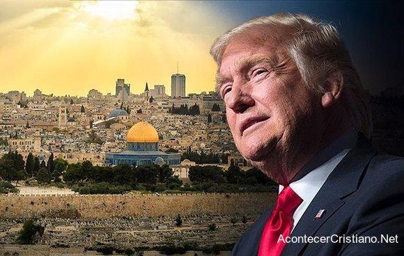 Donald Trump cumple profecía de Jerusalén