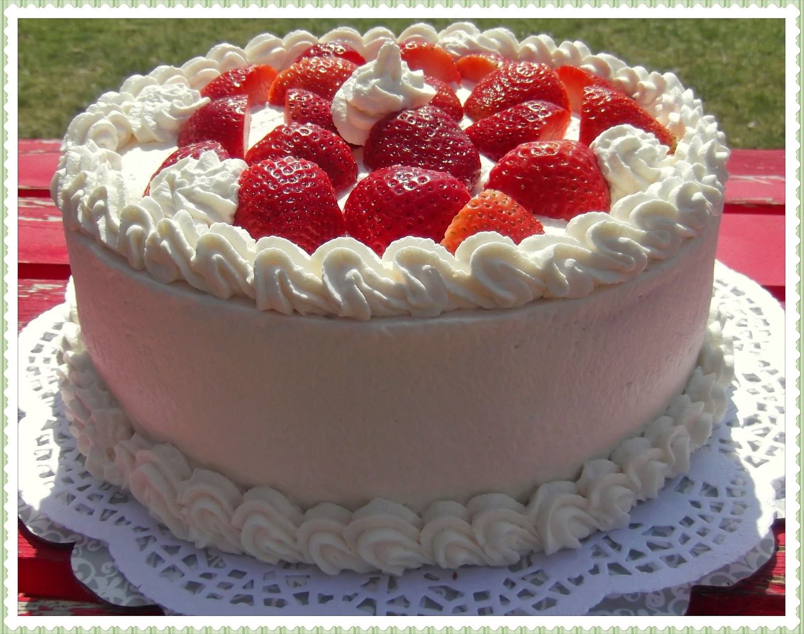 Rosie S Country Baking Strawberry Shortcake Layer Cake