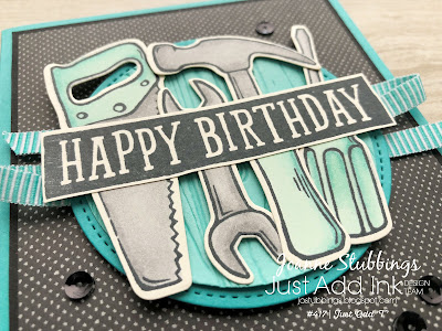 Jo's Stamping Spot - Just Add Ink Challenge #417 using Nailed It bundle by Stampin' Up!
