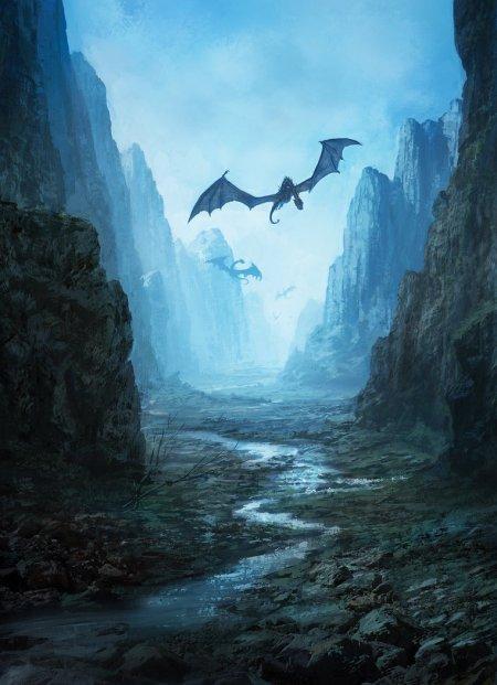 marc simonetti ilustrações fantasia arte conceitual medieval dragões