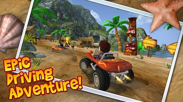BEACH BUGGY BLITZ GAME ANDROID MEGAPAD WAMO PRO