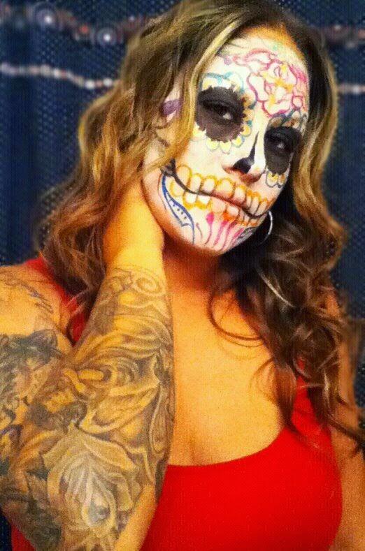 Imagen del tatuaje de catrina