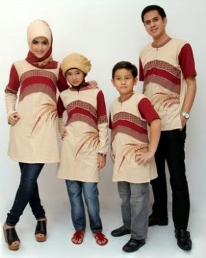 Gambar baju muslim keluarga masakini