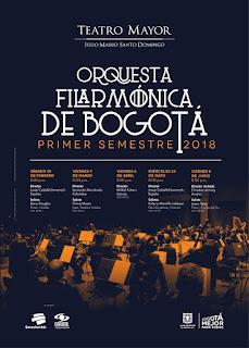 Primer Semestre 2018 de la Orquesta Filarmónica de Bogotá