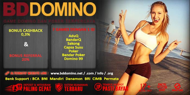 Bonus Referral Judi Domino Online BdDomino