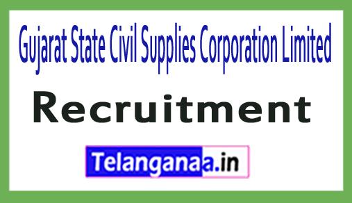 Gujarat State Civil Supplies Corporation Limited GSCSCL Recruitment