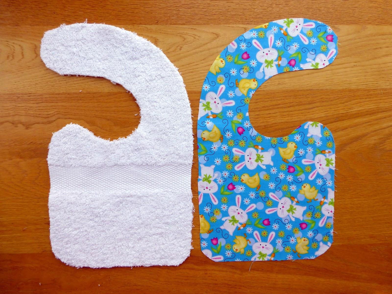 Easter Bibs Tutorial - Just Jude Designs - Quilting