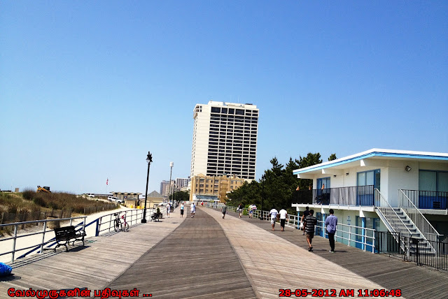 Atlantic City Beach Boardwalk