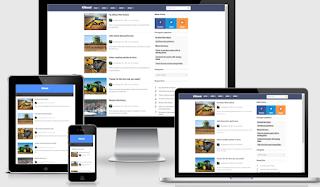 klinest premium blogger template fast loading seo responsive