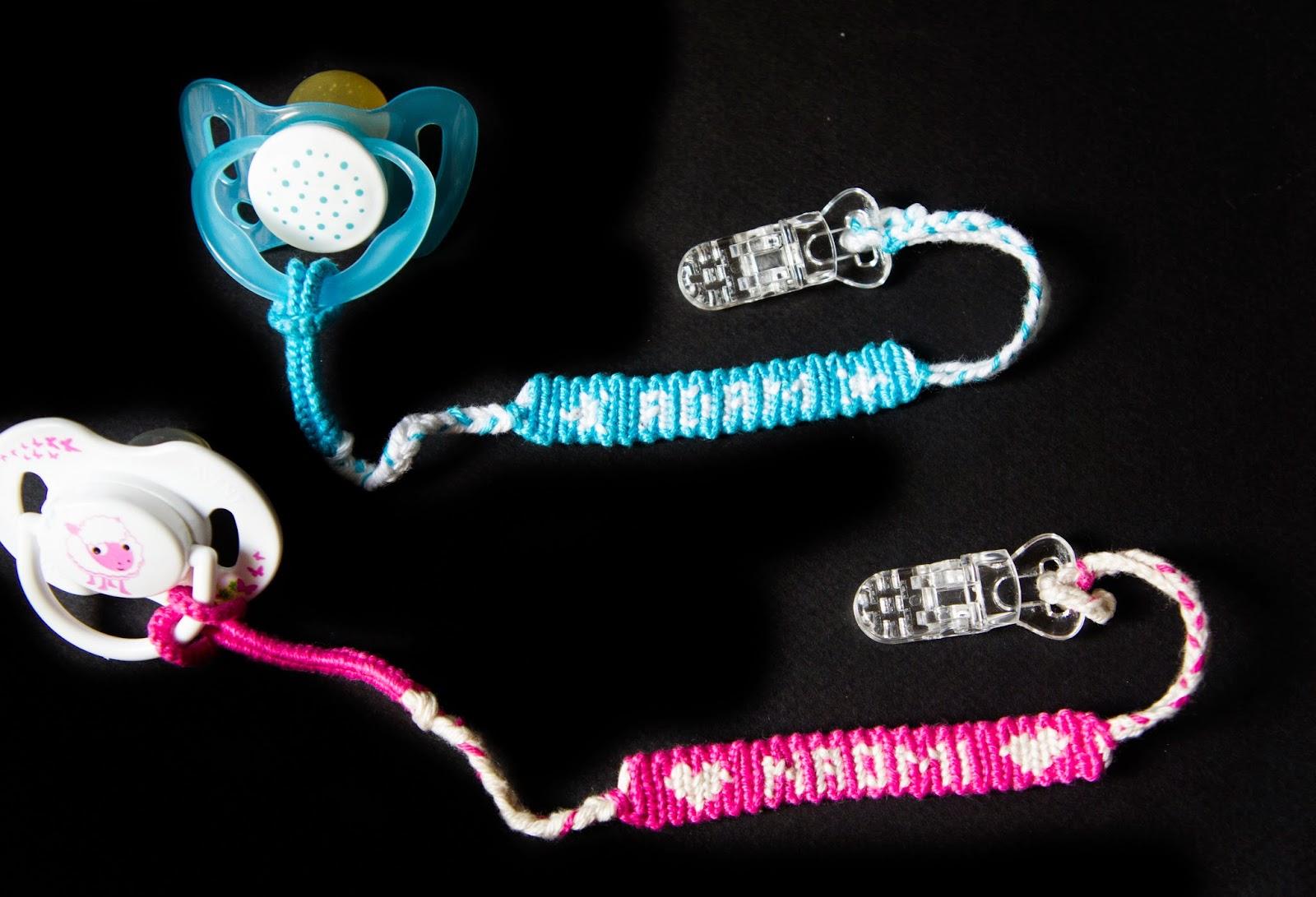 vente en ligne dessins attrayants nouveaux styles Bracelets brésiliens: Attache-tétine personnalisé