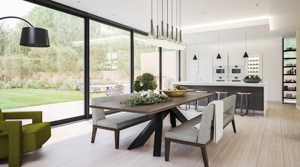 The Modern Concept of Interior Design, Modern Interior Design Elements, Modern graphic design, Contemporary Design Concept