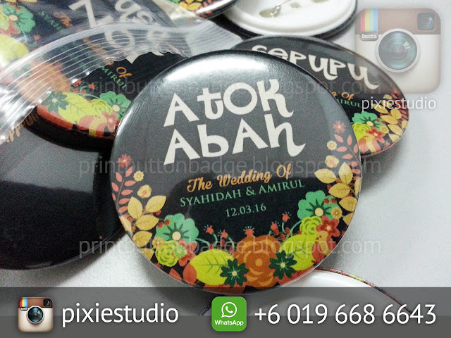 cetakan button badge 2017