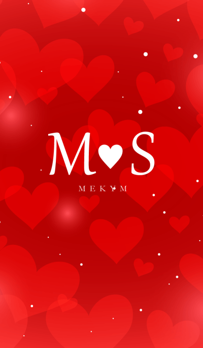 Initial -M&S- Fluffy Love