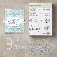 Stampin' Up! Snowflakes Sentiments WOOD Mount Bundle from Mitosu Crafts UK Online Shop