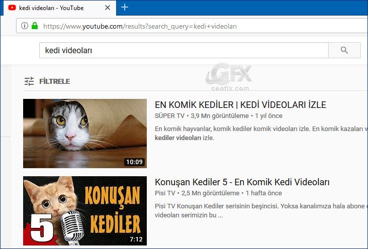 Youtube'da son yüklenen videoları nasıl bulurum! - www.ceofix.com