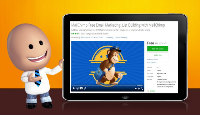[100% Off] MailChimp Free Email Marketing: List Building with MailChimp| Worth 20$