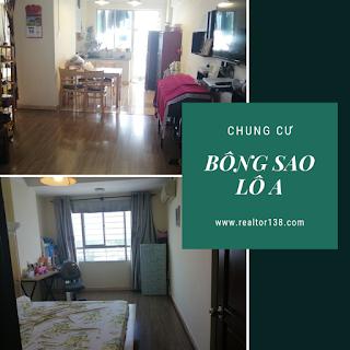 Bán chung cư Bông Sao Lô A đường Tạ Quang Bửu