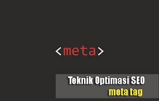 Teknik Optimasi SEO Meta Tag