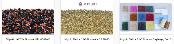 Miyuki Boncuk Modellerinde Yeni Çeşitler 2