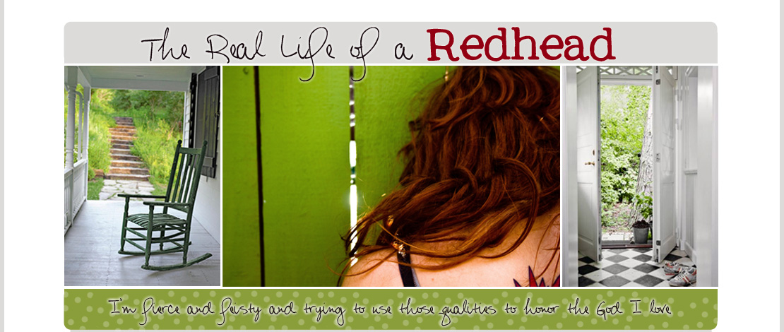 The Real Life of a Red Head