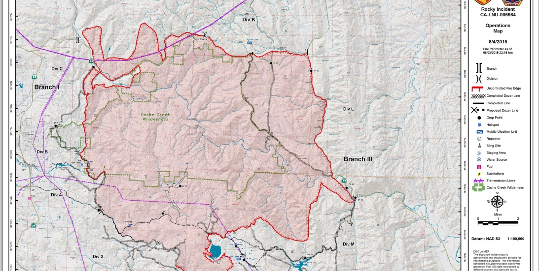 Butterfly of Four : August 5, 2015   day 8   Rocky Fire